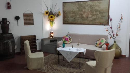 Area soggiorno di Ripamonti Guest House