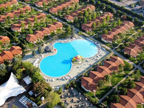 A bird's-eye view of Camping Bella Italia