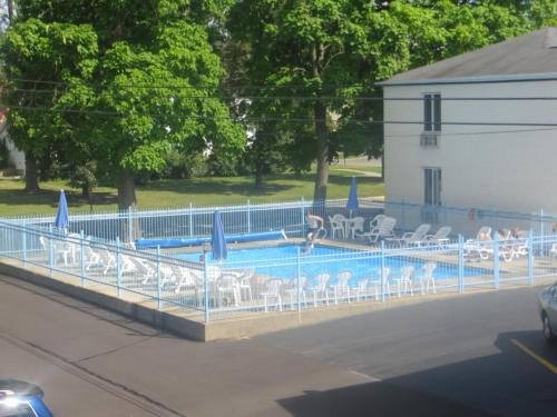 The swimming pool at or close to Starlite Motel