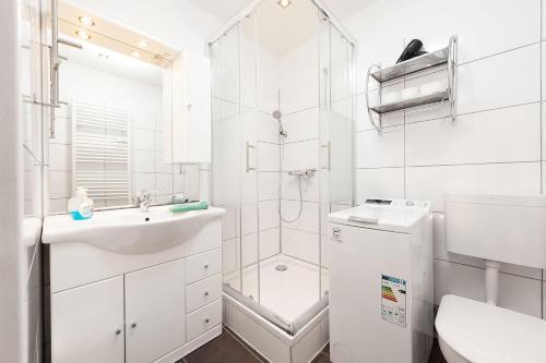 Ein Badezimmer in der Unterkunft Easyapartments Central Business