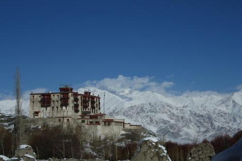 Stok Palace Heritage during the winter