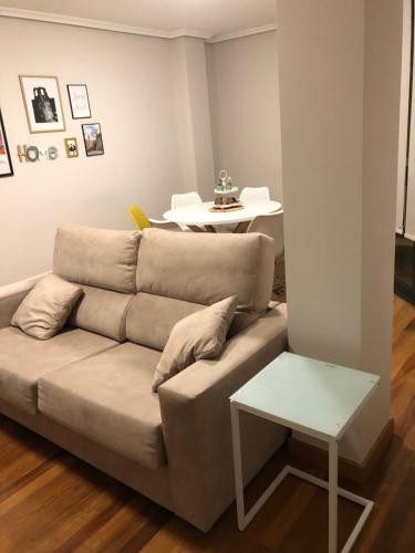 Zona de estar de Apartamentos San Froilan