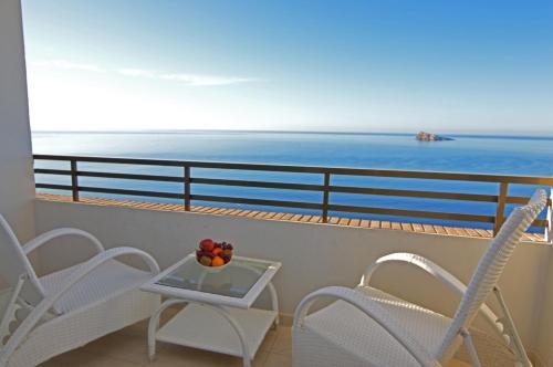 Een balkon of terras bij Les Dunes Comodoro