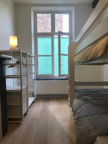 Een stapelbed of stapelbedden in een kamer bij Bed & Boon