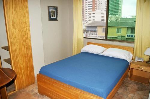 Cama o camas de una habitación en Hotel Marvento I