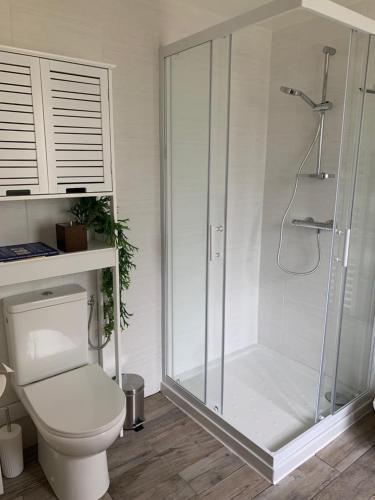 Een badkamer bij B&B de la Sole