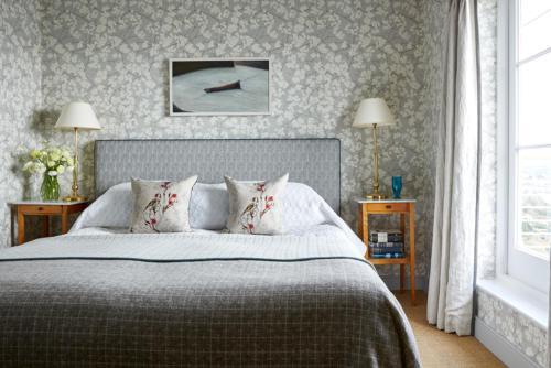 Ein Bett oder Betten in einem Zimmer der Unterkunft Hotel Tresanton