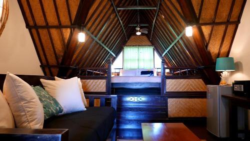 Zona d'estar a Istana Balian