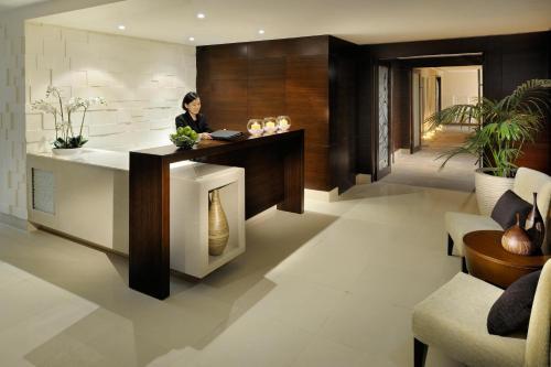 The lobby or reception area at Asiana Hotel Dubai