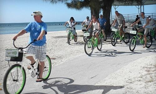 Cycling at or in the surroundings of Ozona Bungalow & Guesthouse, 5 minutes from Honeymoon Beach, with Bikes & Dog Friendly