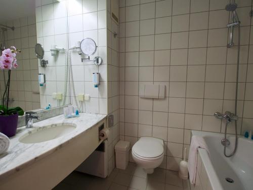 Koupelna v ubytování Arion Cityhotel Vienna und Appartements