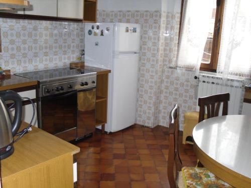A kitchen or kitchenette at Appartamenti Il Leone