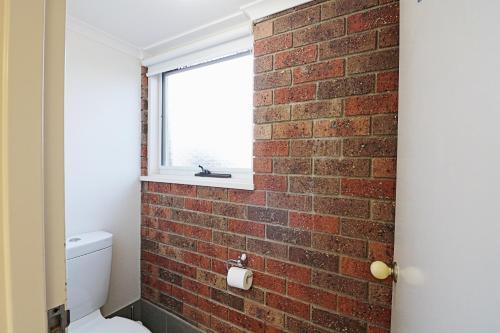 A bathroom at Pelican Waters