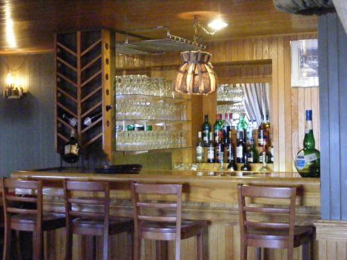 Salon ou bar de l'établissement Hotel Motel Bon Accueil