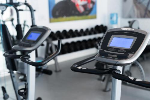 The fitness center and/or fitness facilities at Hotel Spa Calagrande Cabo de Gata