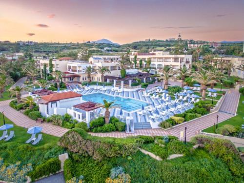 A bird's-eye view of Creta Royal - Adults Only