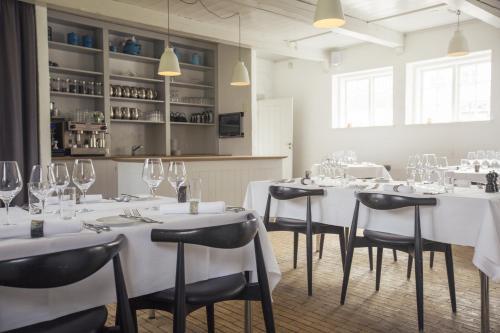 En restaurant eller et andet spisested på Nørre Vosborg