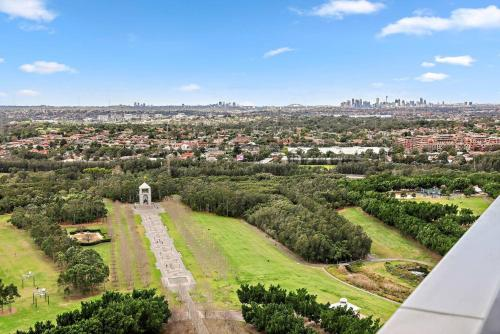A bird's-eye view of Brand new four bedrooms in Sydney Olympic Park