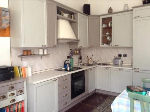Küche/Küchenzeile in der Unterkunft Butterflys b&b suite home