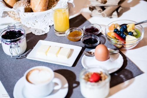 Завтрак для гостей Garni Hotel Mirabel