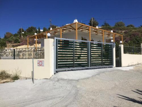 Villas Alexandros during the winter