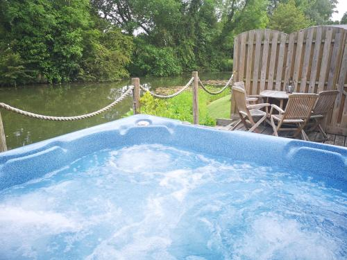 The swimming pool at or near Cart Lodge Breaks