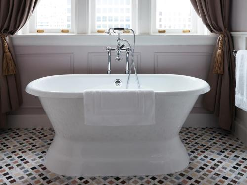 Salle de bains dans l'établissement Maison de la Luz