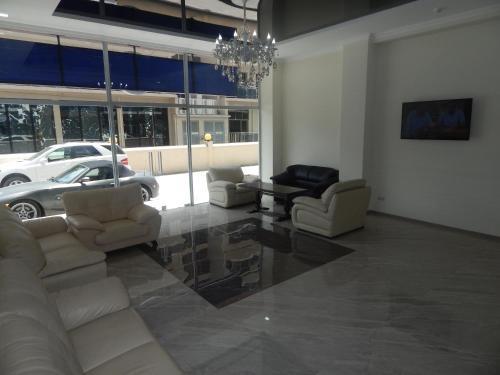 Гостиная зона в Hotel Belugo