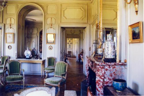 Hall ou réception de l'établissement Château de Sédaiges