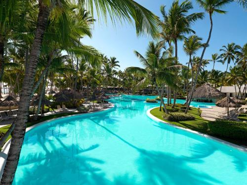 The swimming pool at or near Meliá Punta Cana Beach Resort Adults Only -All Inclusive