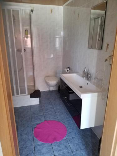 Ein Badezimmer in der Unterkunft Landhaus Mecklenburg