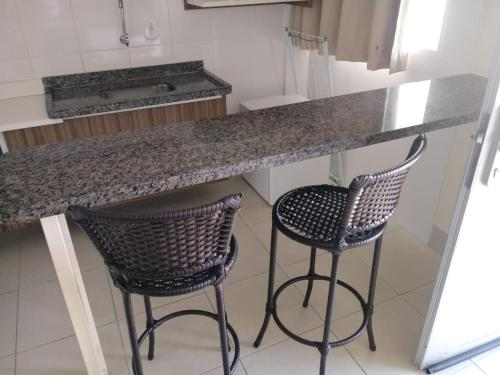 A kitchen or kitchenette at Flats Lacqua Diroma