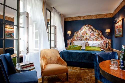 Posedenie v ubytovaní Balthazar Design Hotel