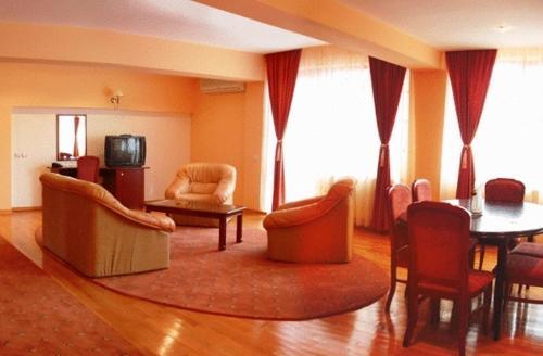 O zonă de relaxare la Hotel Maria
