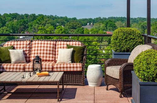 A balcony or terrace at Graduate Charlottesville