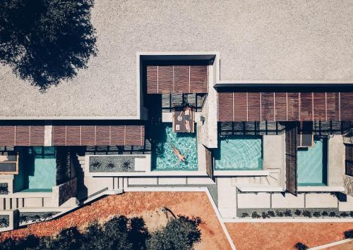 The floor plan of Monastery Estate Retreat
