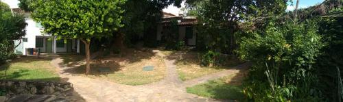 A garden outside Pousada do Ipe