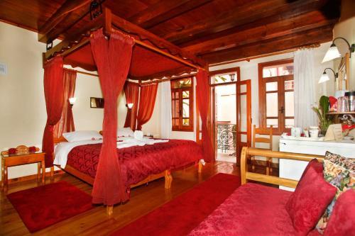 Ένα ή περισσότερα κρεβάτια σε δωμάτιο στο Palazzo di Pietro