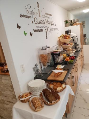 Frühstücksoptionen für Gäste der Unterkunft Hotel Elite