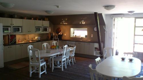 En restaurang eller annat matställe på Baggetorps Vandrarhem