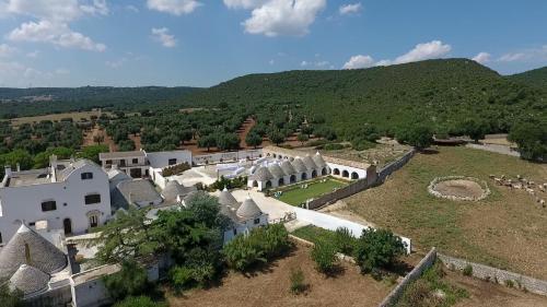 Vista aerea di Masseria Pilano