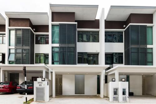 The floor plan of Villa 23 @ Cyberjaya