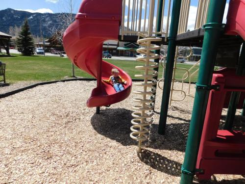 Children's play area at Grand View Mountain Lodge