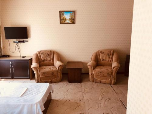 A seating area at Hotel Zama