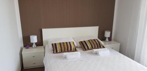 Postel nebo postele na pokoji v ubytování Apartman Vodice***