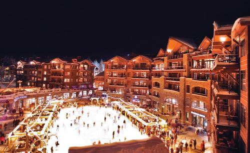 A bird's-eye view of Northstar California Resort