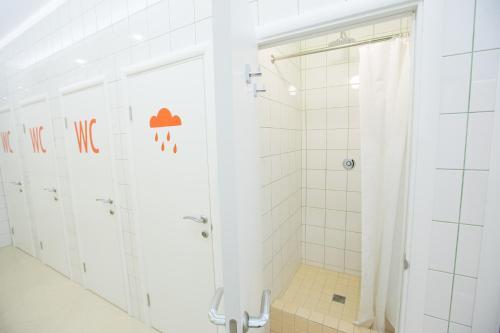 Ванная комната в Hostel 60
