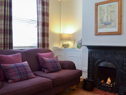 A seating area at Dragonfly Cottage