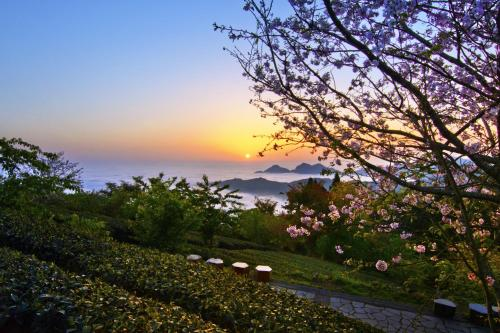 民宿或附近地點的日出和日落景觀