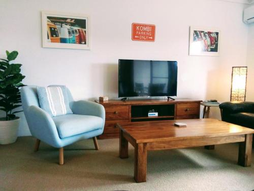 A television and/or entertainment center at Outrigger Bay